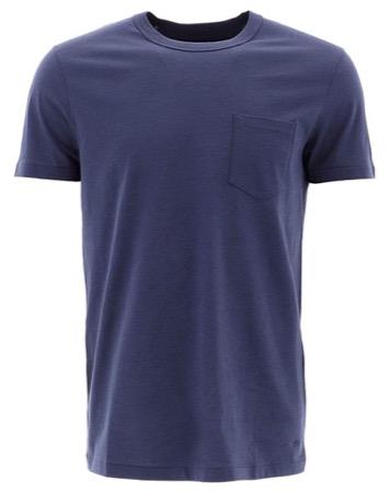 Tom Ford/ブルー コットン T-シャツ