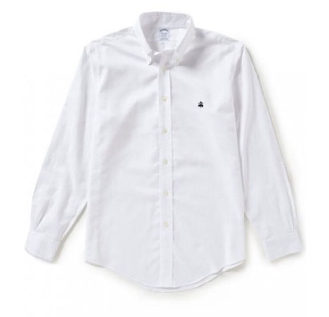 Brooks Brothers/Non-Iron Regent Fit Solid Oxford Woven Shirt