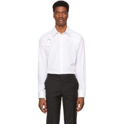 Alexander McQueen/White Harness Shirt