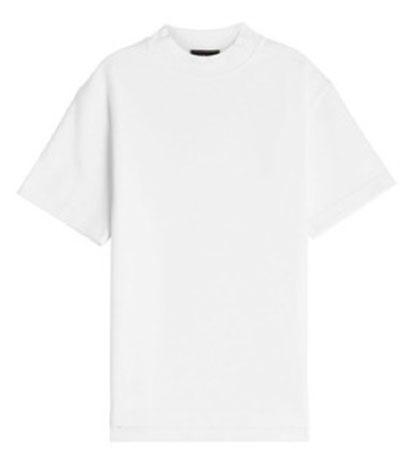 CALVIN KLEIN/Printed Cotton Top