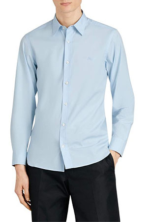 Burberry/William Stretch Poplin Sport Shirts
