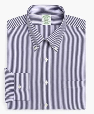 Brooks Brothers/ノンアイロンブロードポロカラーシャツMilano Fit