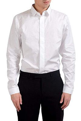 Dior/白シャツ