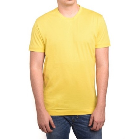 Ermenegildo Zegna/Zegna by Double Collar T-Shirt Yellow