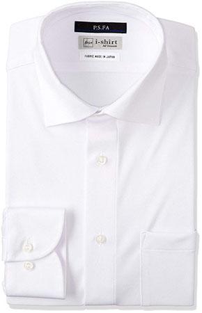 P.S.FA/i-Shirt 完全ノーアイロン 360°ストレッチ 速乾 スリムモデル