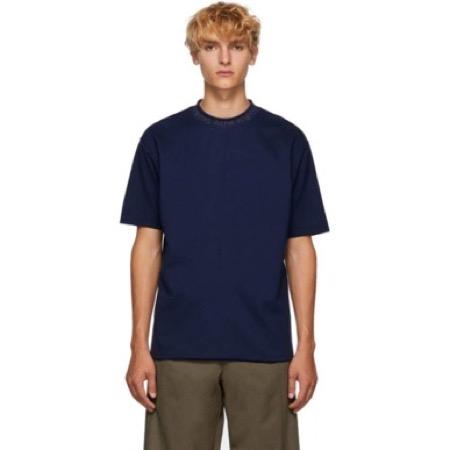 Acne Studios/Blue Navid Logo T-Shirt