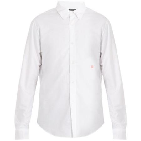 Acne Studios/Ohio Face cotton shirt