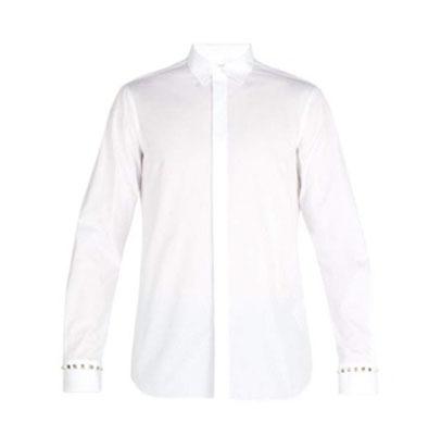 Valentino/Rockstud cotton poplin shirt