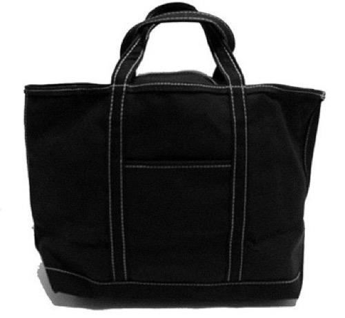 Custom Tote Bag Large Black