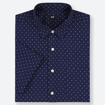 エクストラファインコットンブロードプリントシャツ(半袖)