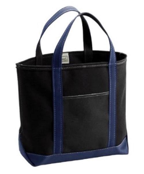 Custom Tote Bag Medium Black/Navy