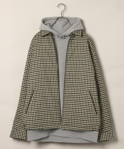 RAGEBLUE/柄TRドリズラージャケット
