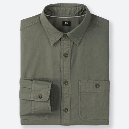 ワークシャツ(長袖)