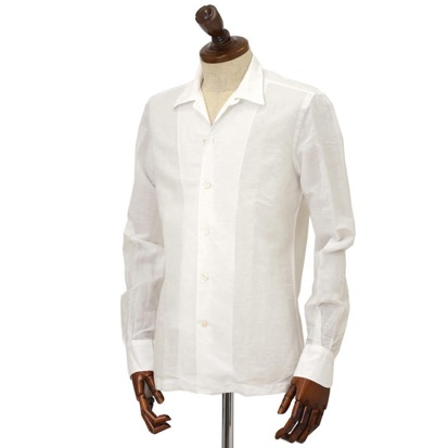 Finamore/オープンカラーシャツBART MILOS