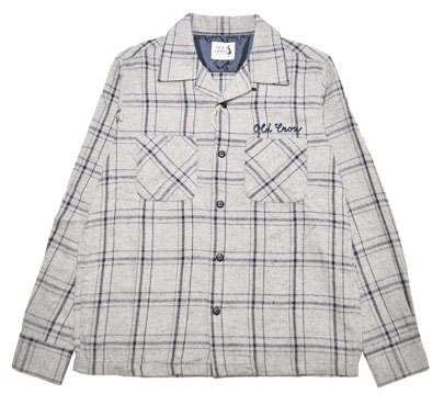 OLD CROW/OLDROD CHECK - L/S SHIRTS