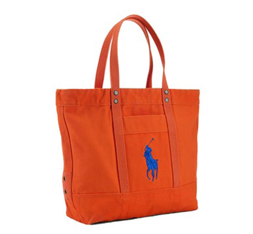 Bright Big Pony Zip Tote