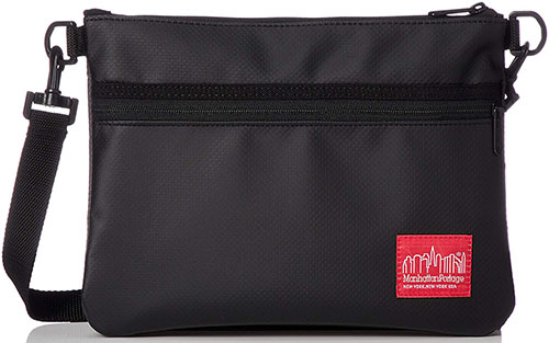 Matte Vinyl Shoulder Bag/Manhattan Portage