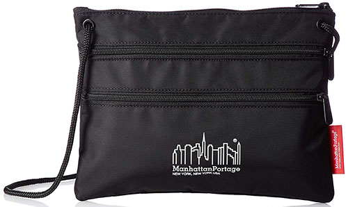 Triple Zipper Pouch/Manhattan Portage
