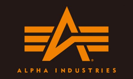 Alpha industries ロゴ