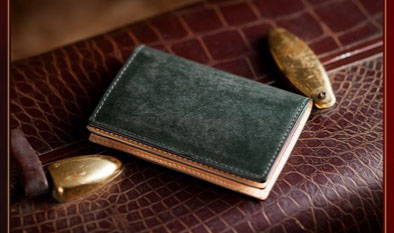 BRIDLE CARD CASE