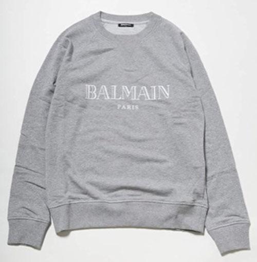 BALMAIN/プルオーバー スウェット (RH11679 I052)