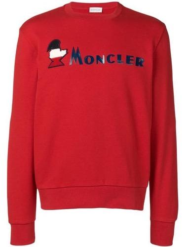 Moncler/ロゴスウェットシャツ