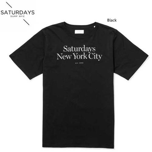 SATURDAYS SURF NYC(サタデーズサーフニューヨーク) ロゴTシャツ