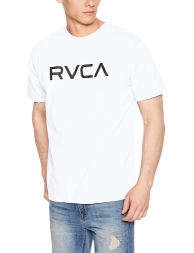 RVCA(ルーカ) ロゴTシャツ