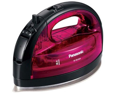 Panasonic コードレススチームWヘッドアイロン ピンク NI-WL404-P