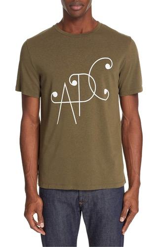 A.P.C.(アーペーセー) ロゴTシャツ