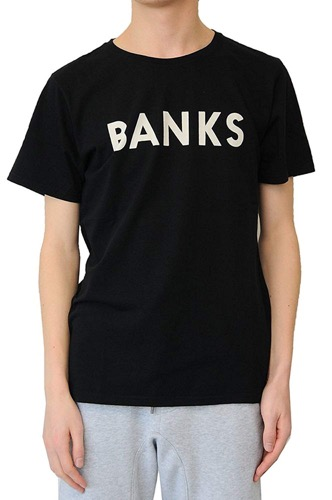 BANKS(バンクス) ロゴTシャツ