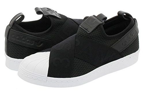 adidas/SUPERSTAR Slip On W CORE BLACK