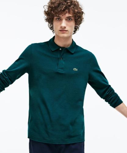 グリーン ポロシャツ