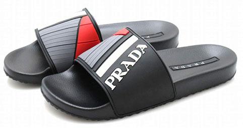 PRADA/デザインシャワーサンダル