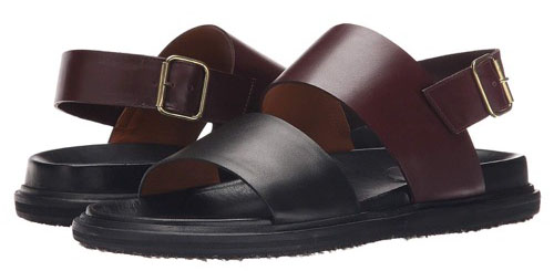 MARNI/Calf Leather Sandal