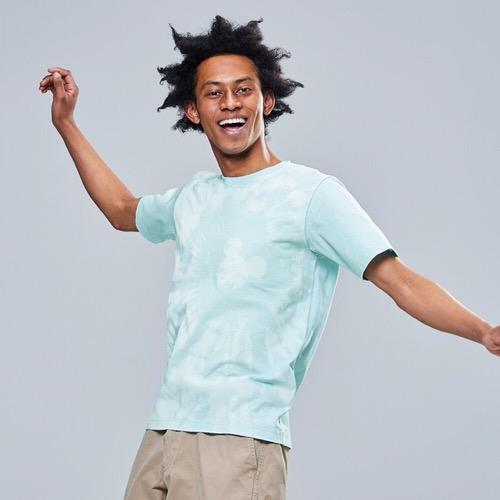 ミッキー ブルー UT(グラフィックTシャツ・半袖)
