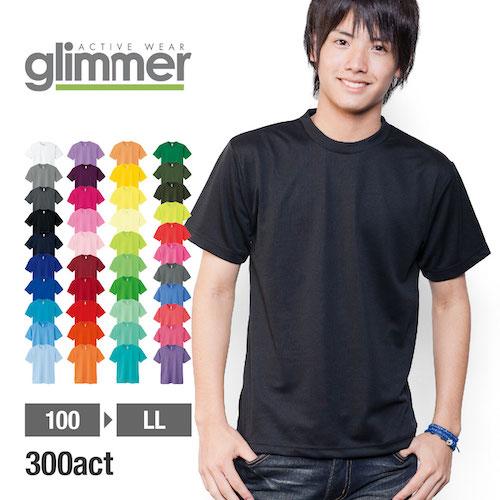 GLIMMER/ドライTシャツ