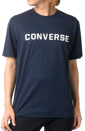 CONVERSE/吸汗速乾ロゴプリントシャツ