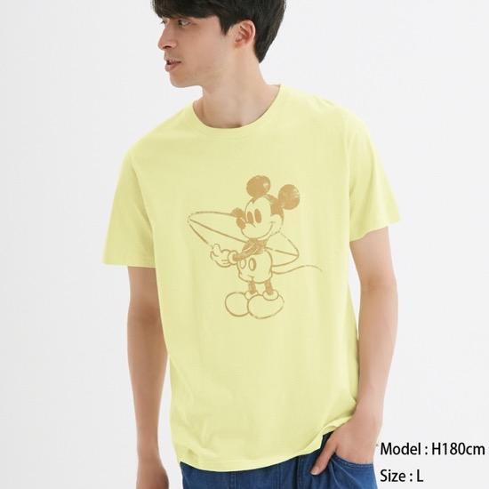 グラフィックT(半袖)Disney1
