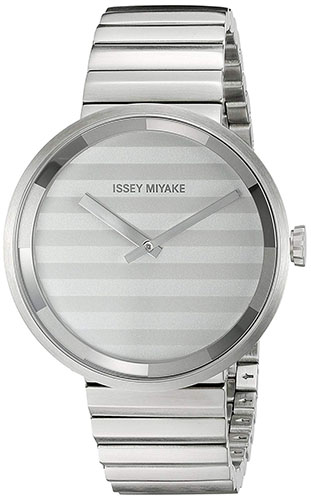 Please Analog Display Quartz Silver Watch