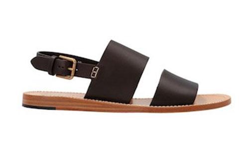 Marrone 'Pantheon' sandals