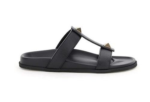 roman stud leather sandals