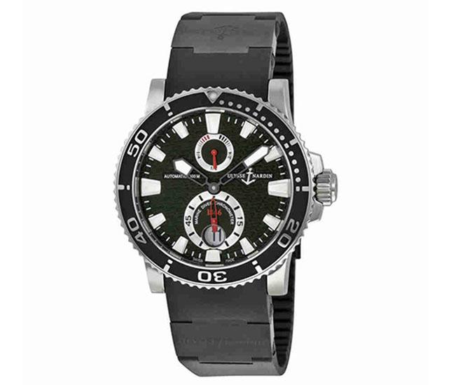 Maxi Marine Diver Black Dial 263-33-3C/82