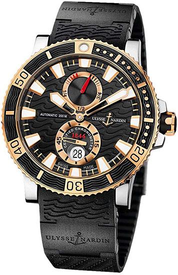 Maxi Marine Diver Titanium Watch 265-90-3C-92