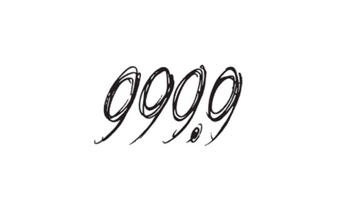 999.9ロゴ