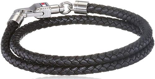 Tommy Hilfiger/Stainless Steel Wrap Bracelet