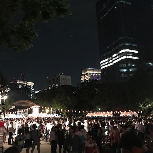 日比谷公園 丸の内音頭大盆踊り大会