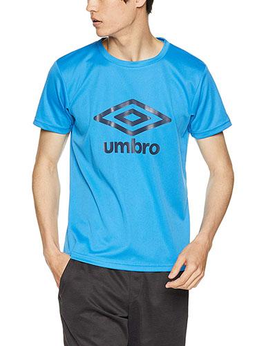 吸汗速乾UVカットロゴTシャツ