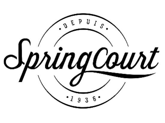 Spring court ロゴ