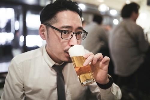 酒強い男性